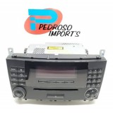 Rádio Original Mercedes W203 C200 2006 A2038705089